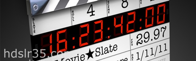 MOVIE STAR SLATE *